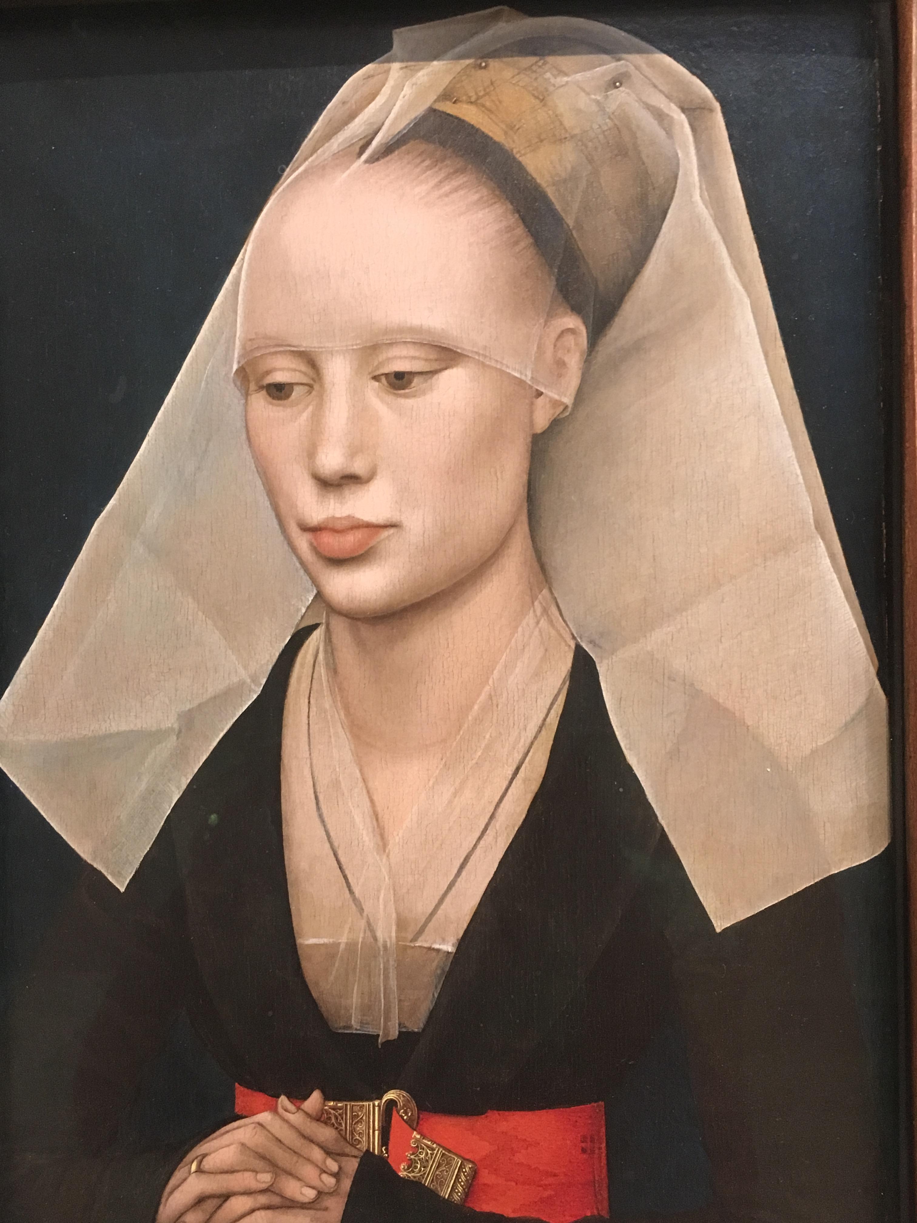 Portrait of a Lady, Rogier van der Weyden, c. 1460