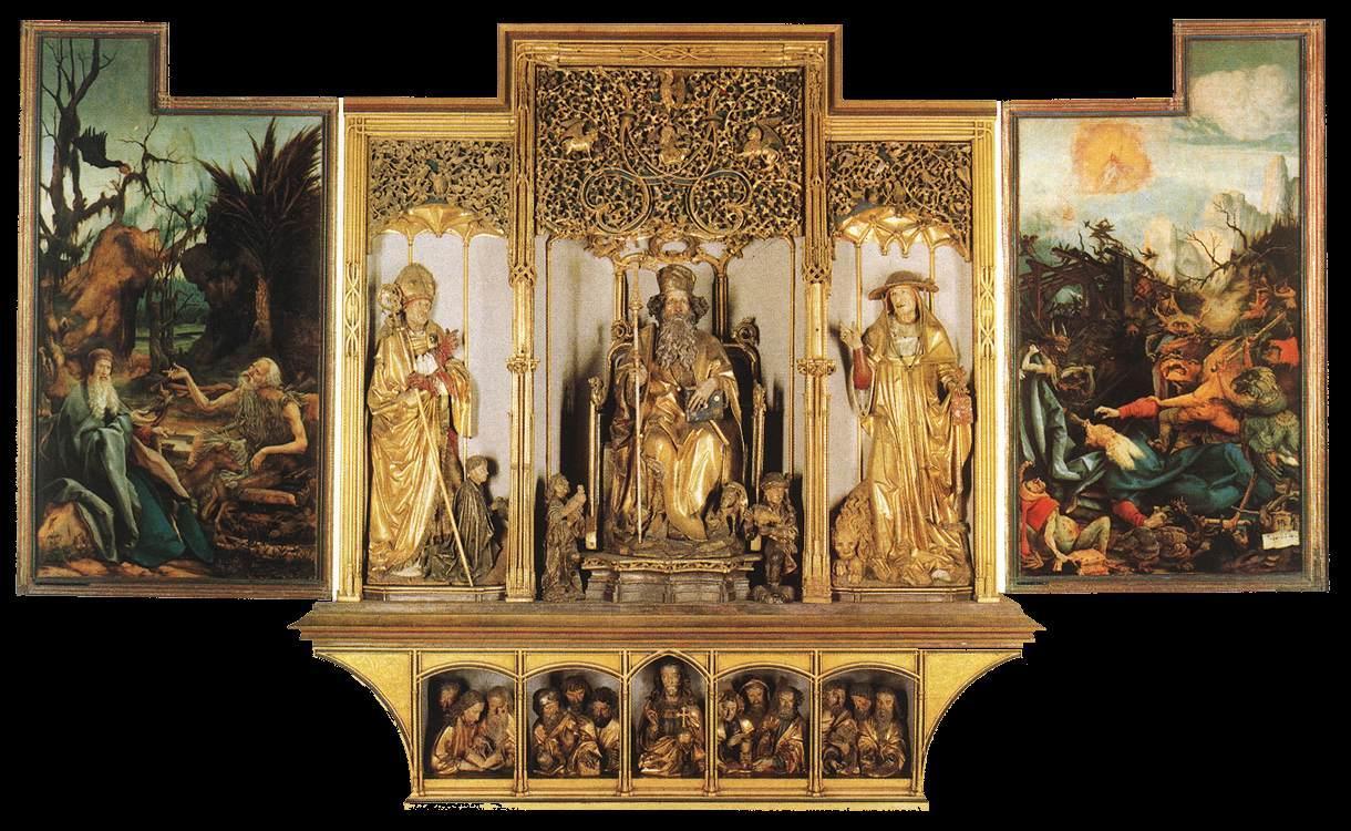 Matthias_Grünewald_-_Isenheim_Altarpiece_(third_view)_-_WGA10758