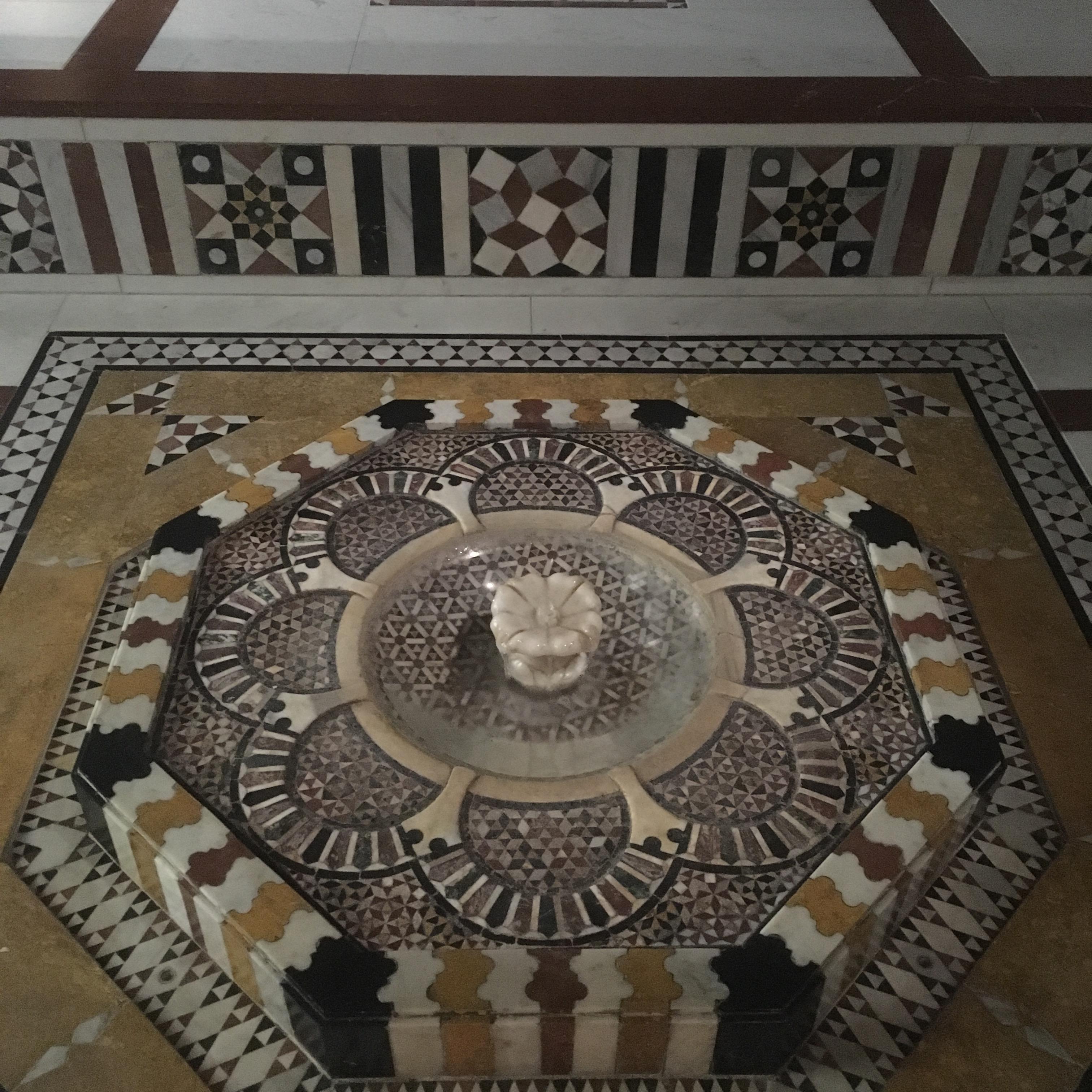 Damascus Room-fountain