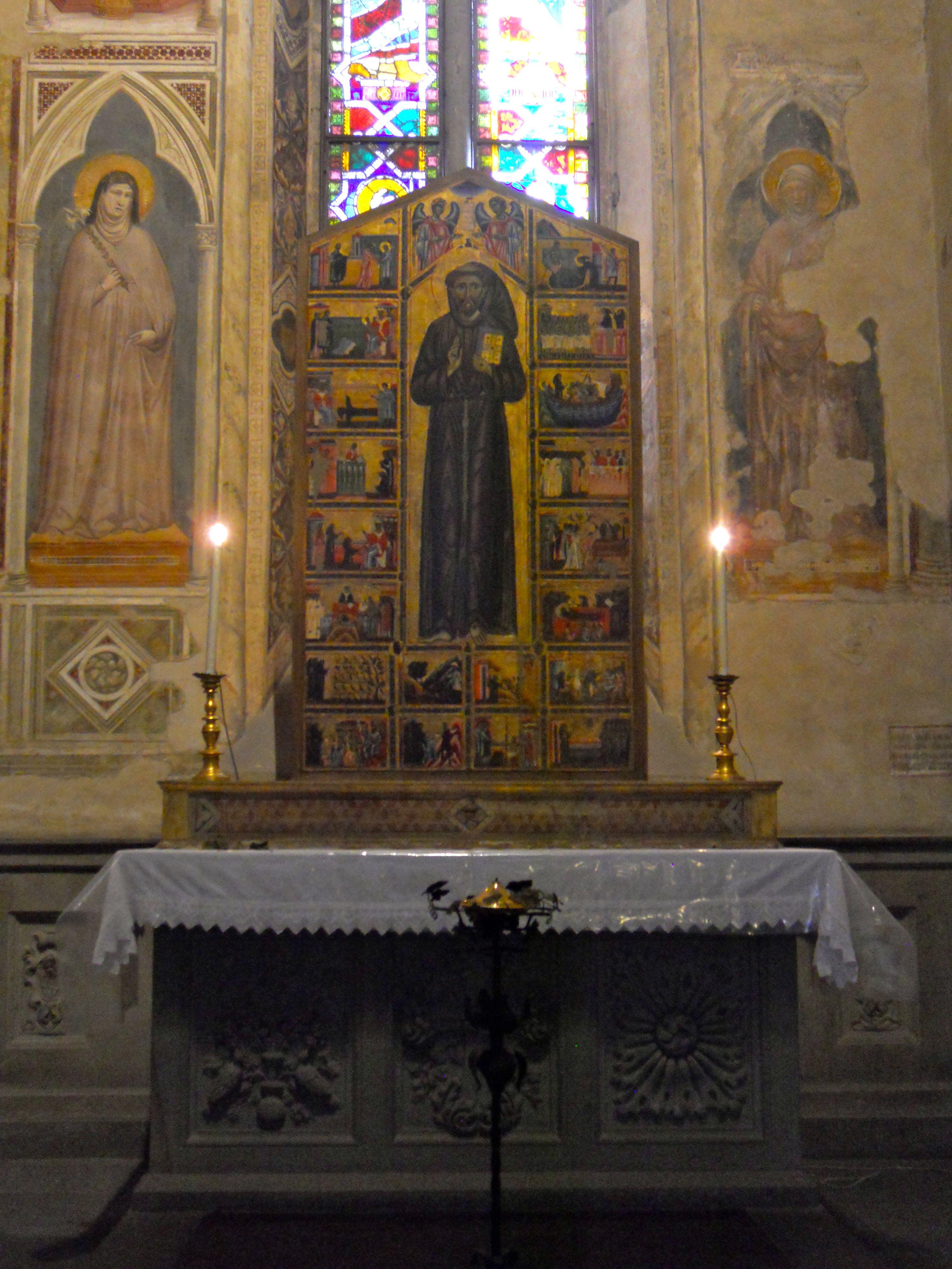 Florence Santa Croce St Francis altarpiece