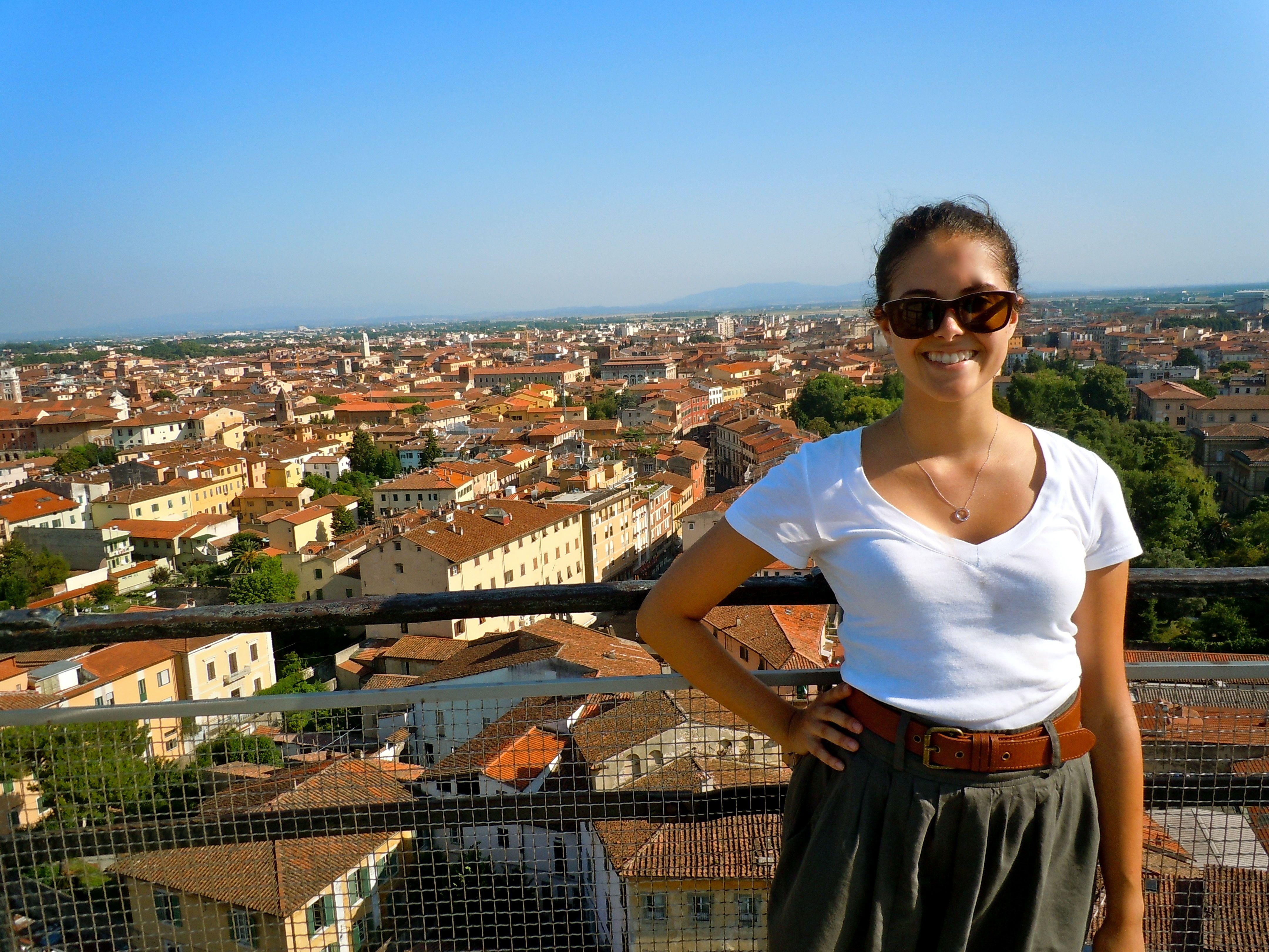 Pisa skyline