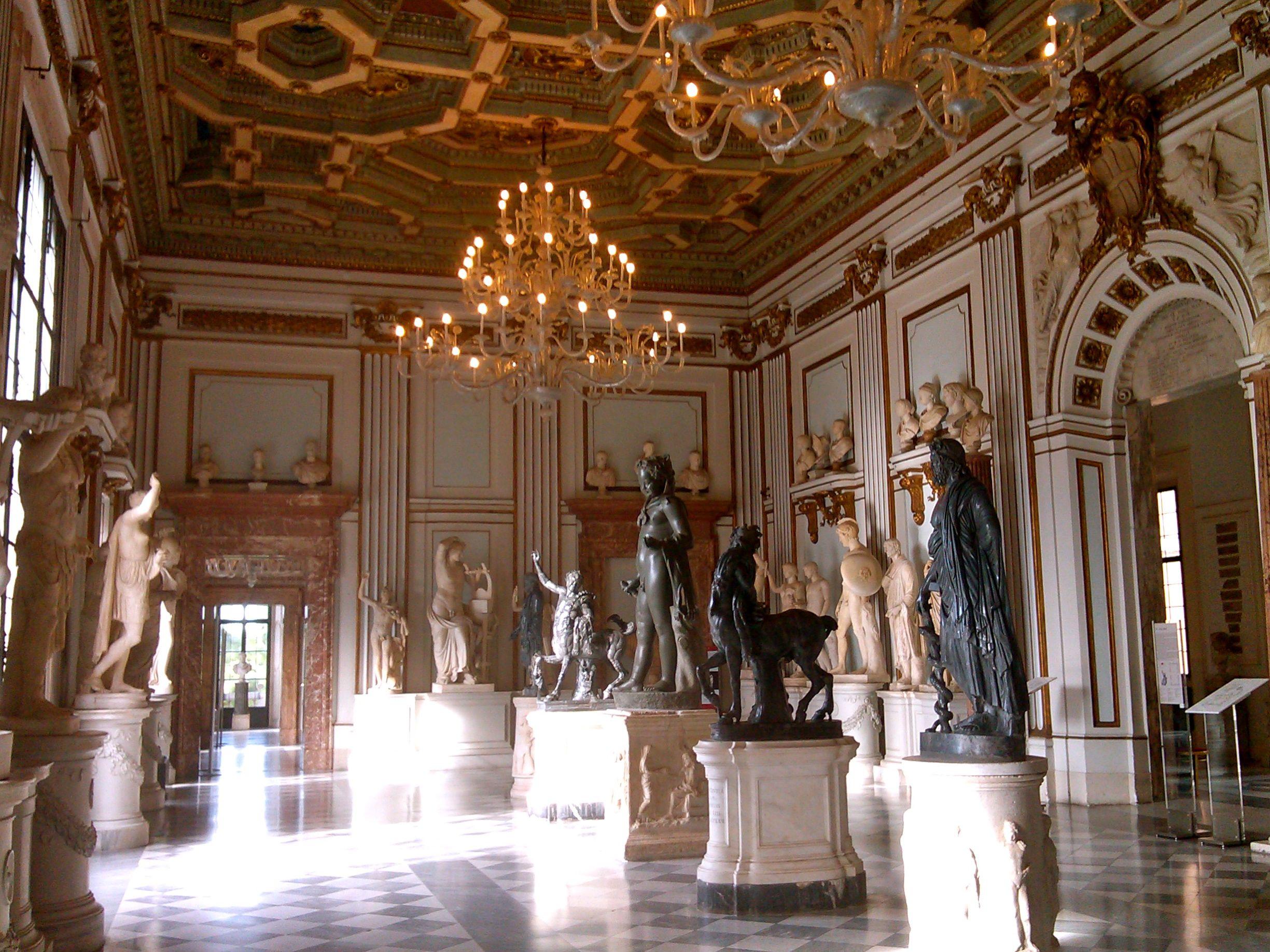rome capitoline museum room