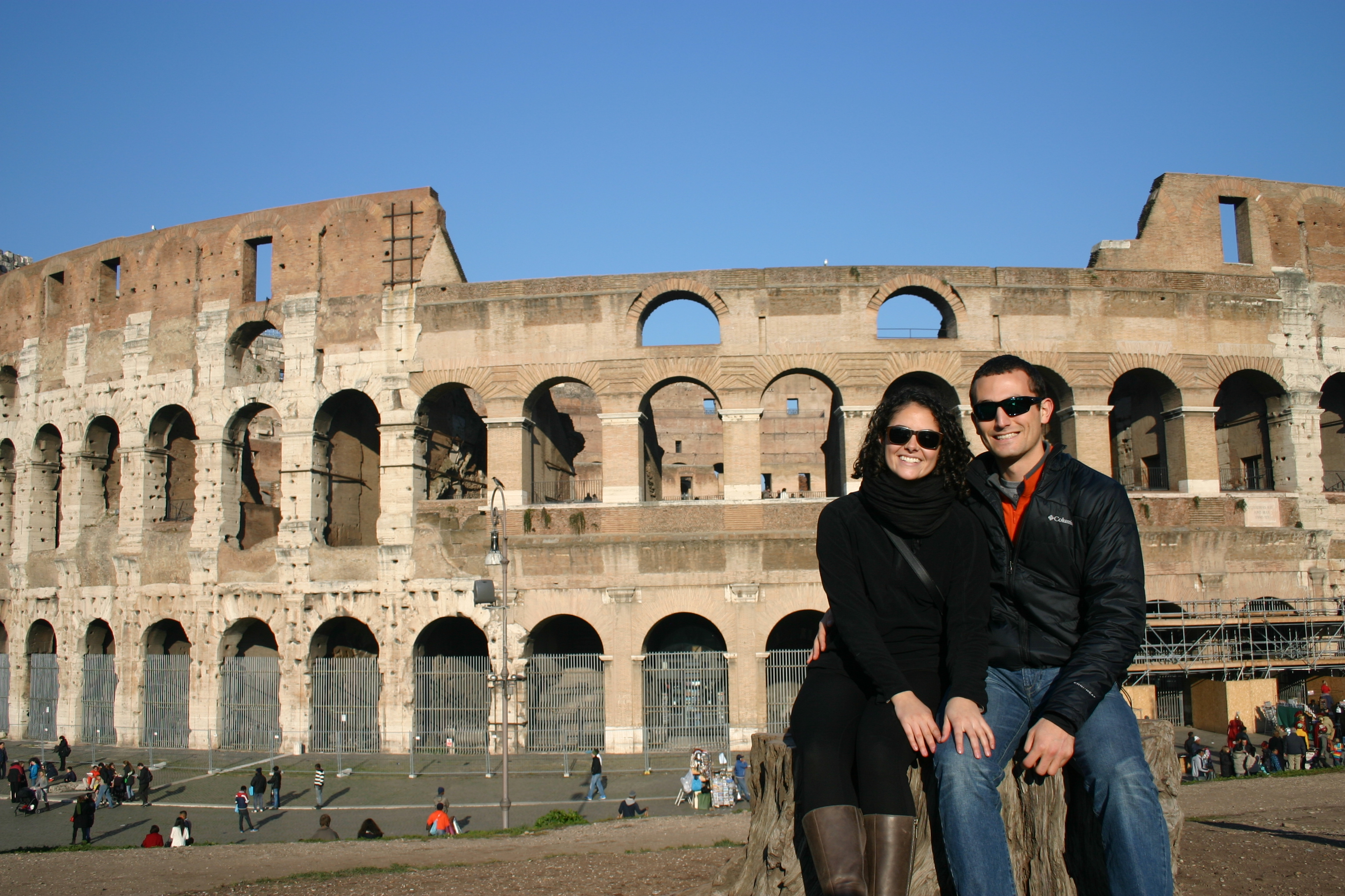 rome colloseum with will & me