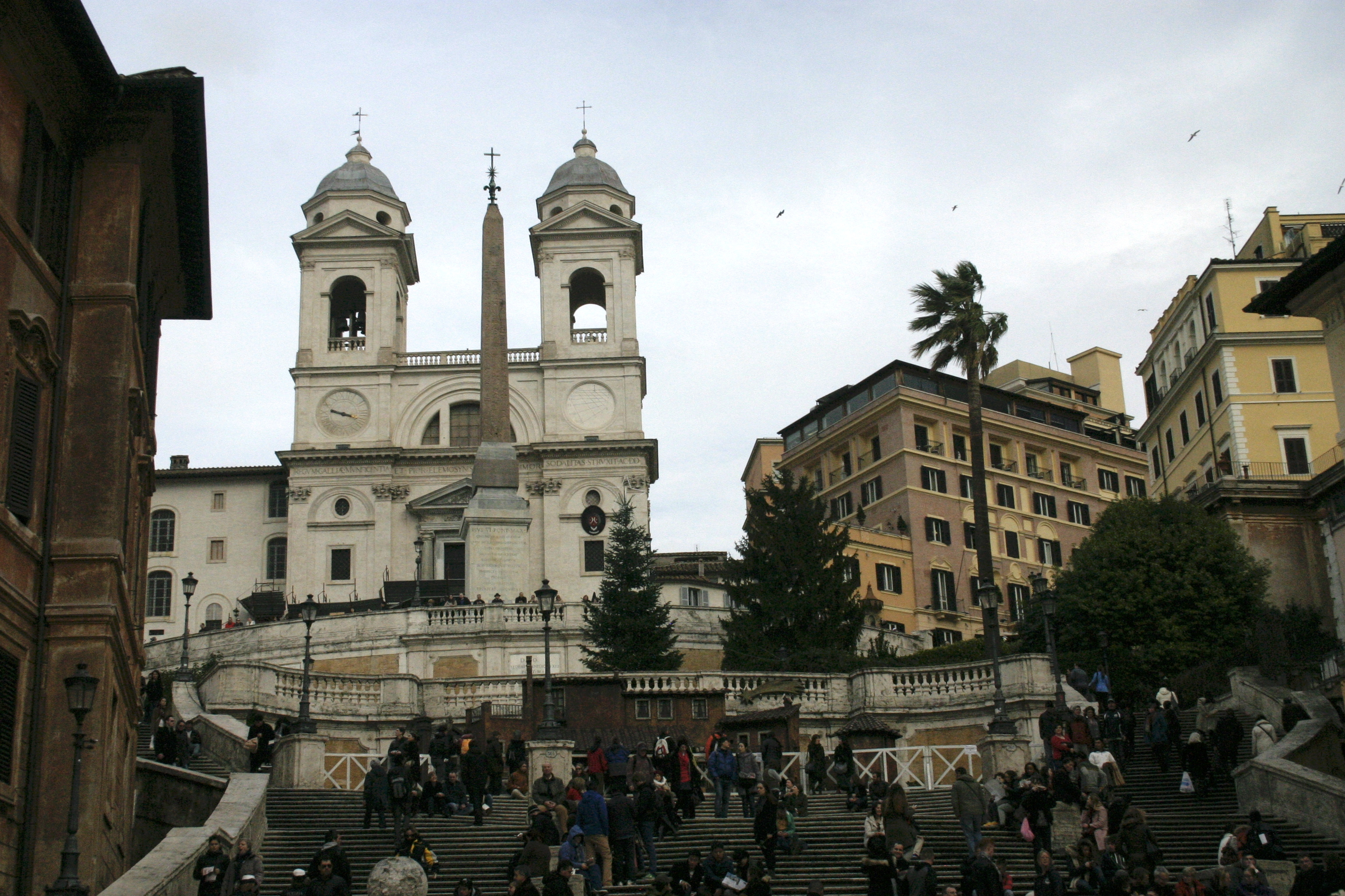 rome spanish steps church