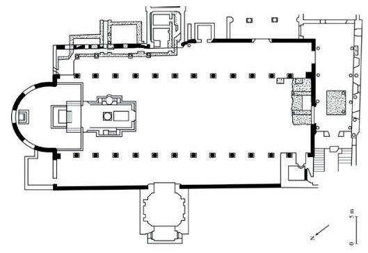 Santa Sabina plan