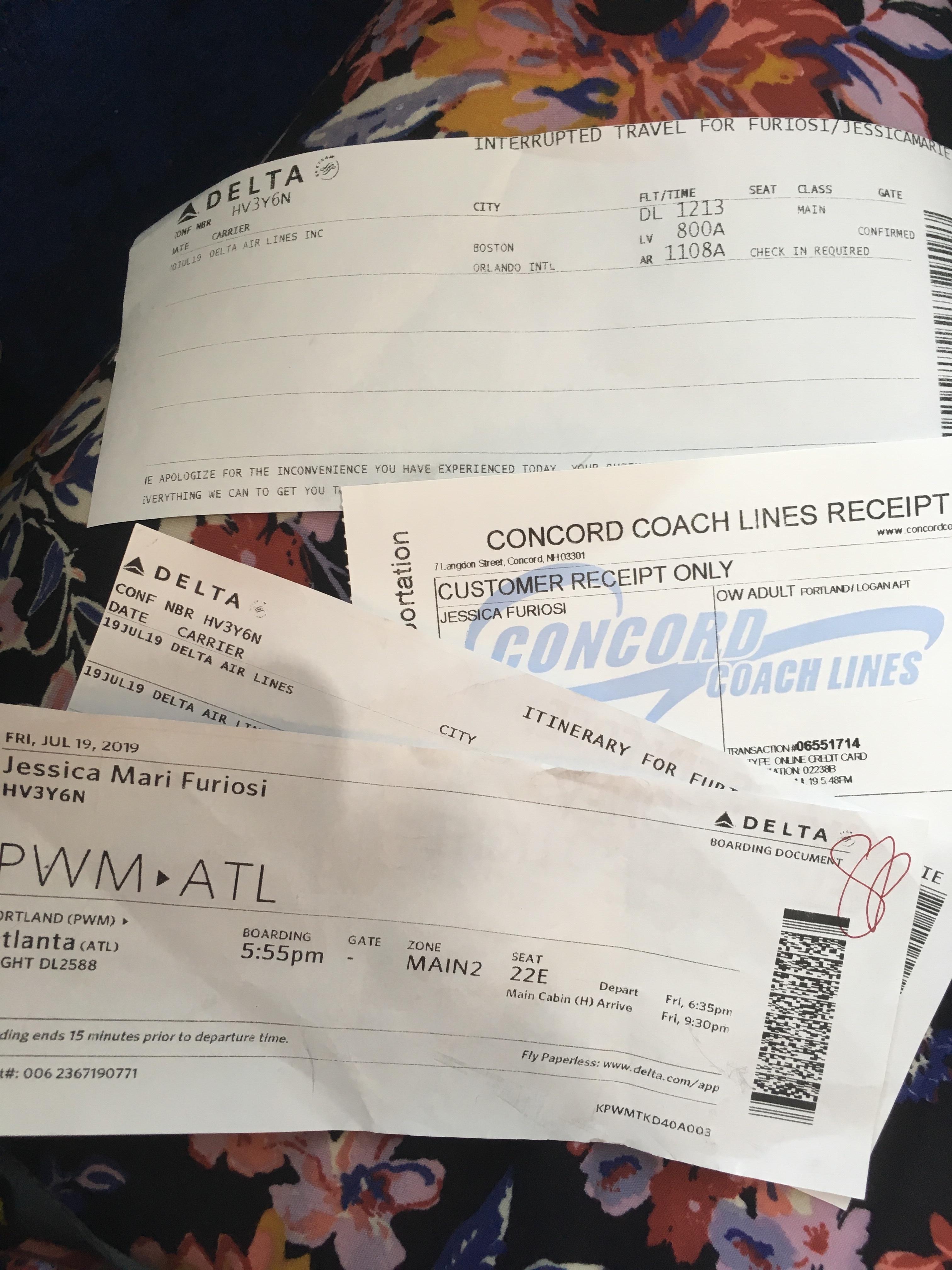 Delta travel docs