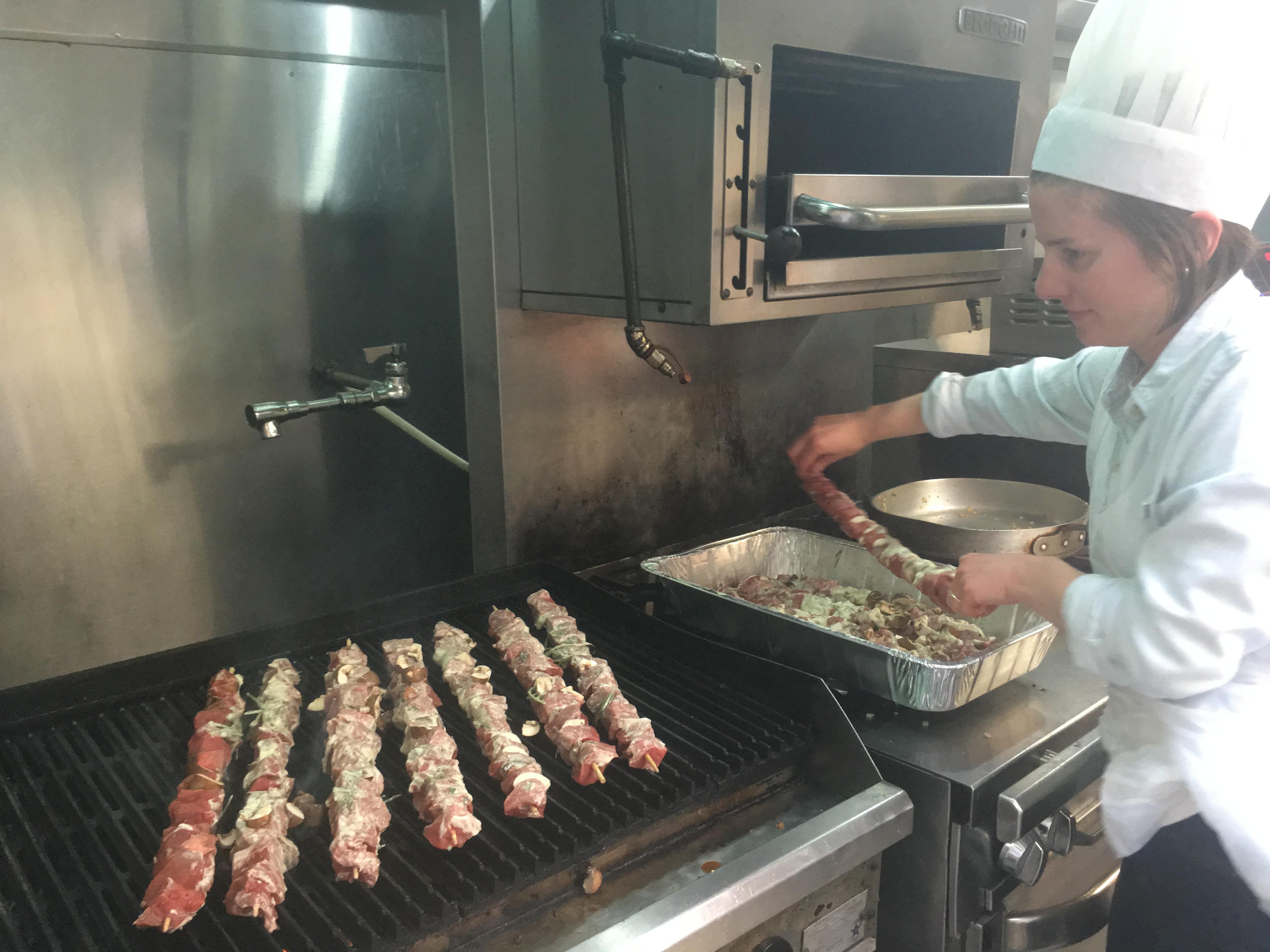 QFI cooking night